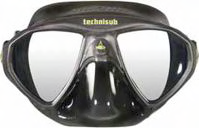 Micromask black silicone front view